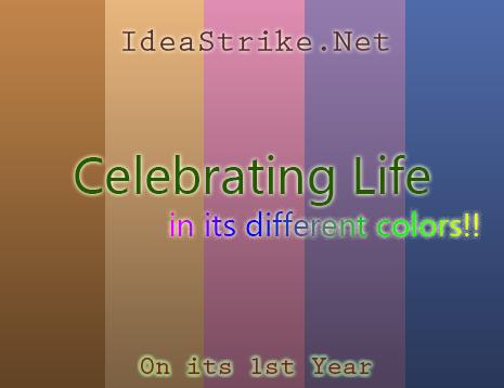 IdeaStrike 1st Anniversary